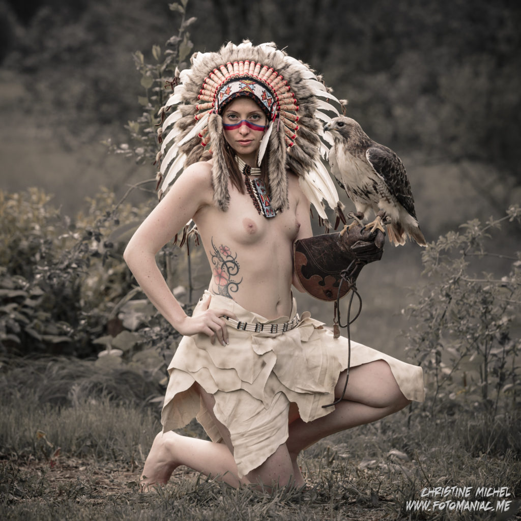 Indian Huntress